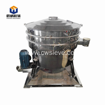 Fully enclosed tumble sieve powder/small particles