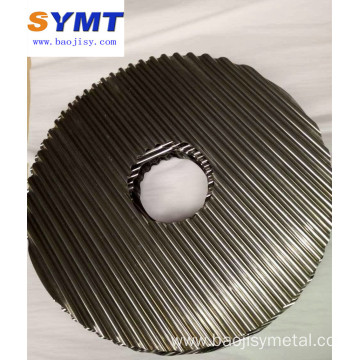 pure Molybdenum corrugated ribbon