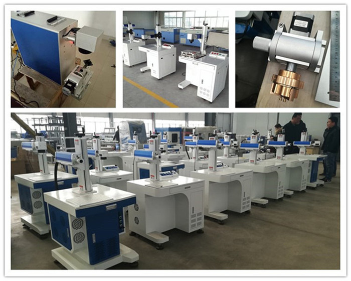mobile phone cell fiber laser marking machine 20w