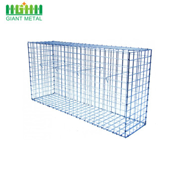 galvanized welded gabion box cage bread dip box