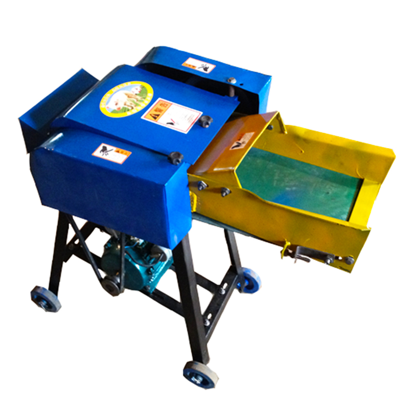 Electric Cattle Feed Small Hay Chopper Shredder