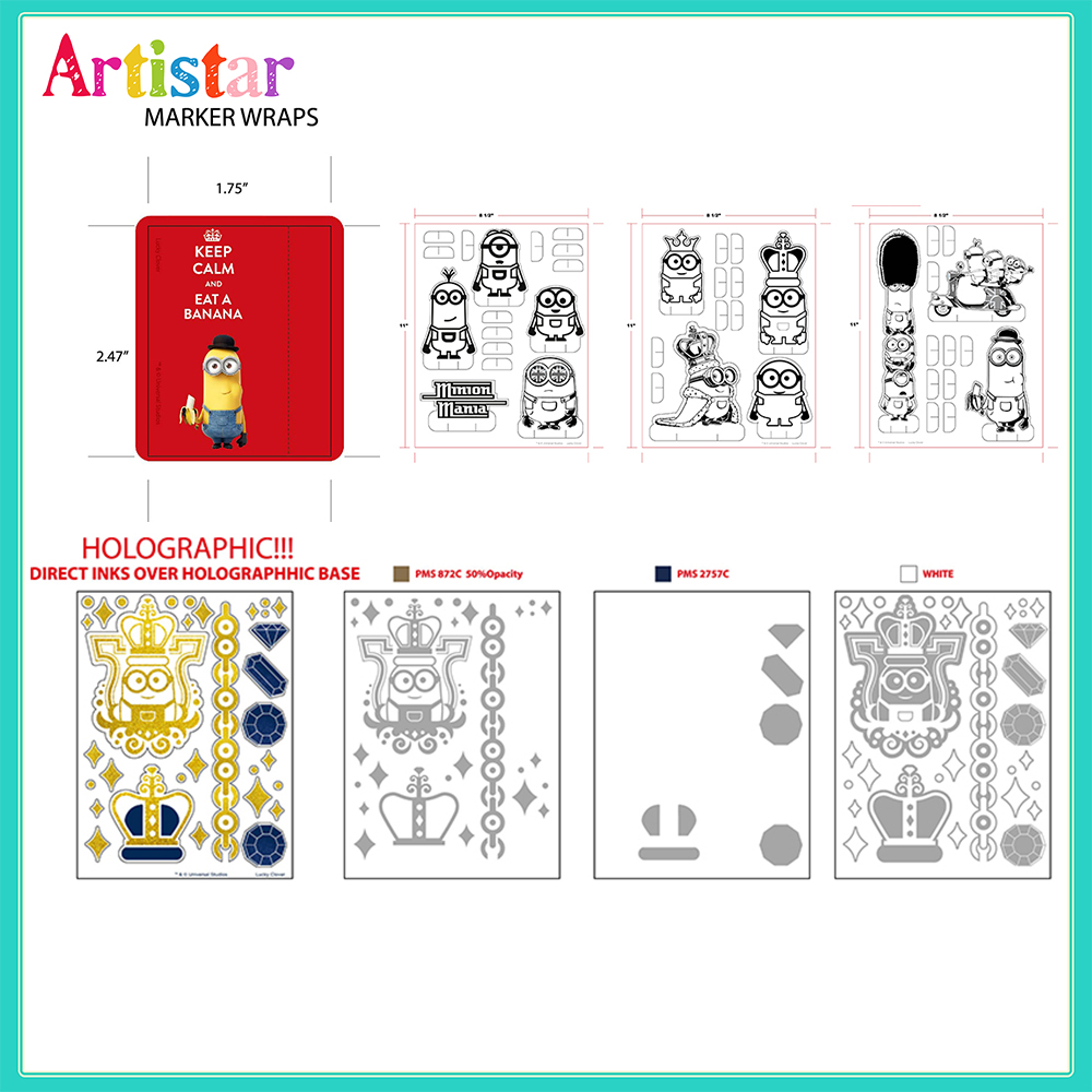 Minions Carry Art Set 2