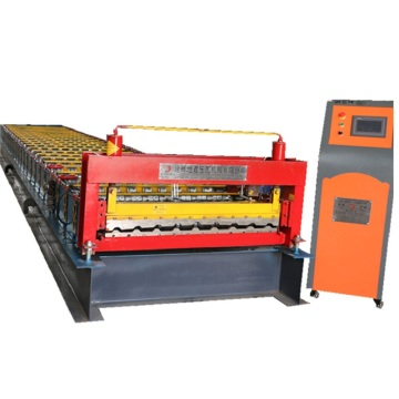 Trapezoidal high speed cutting colored forming machine