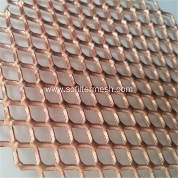 Decorative Copper Expanded Metal Mesh