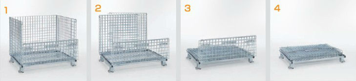 Metal Pallet Cages