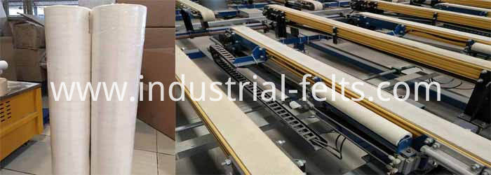 application-polyester-low-tempertuer-felt-roller