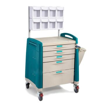 ABS anesthesia cart with drawer