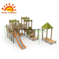 MultiPlay Combination Climb Outdoor Playground For Sale