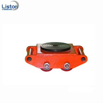 Durable 12 Ton Cargo Trolley Machinery Moving Skates