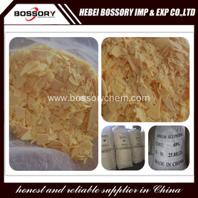 Yellow/Red Sodium Sulfide 60%
