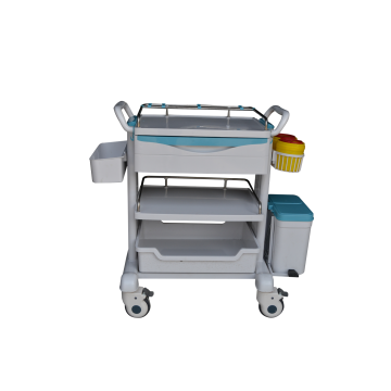 Hospital medical anesthesia trolley