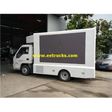 High Brightness P10 LED Mobile Billboard Trucks