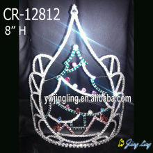 China Cheap price for Christmas Crowns Wholesale Holiday Christmas Tree Pageant Crowns export to Fiji Factory