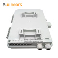 FTTH Outdoor Fiber Optic Terminal Box / Distribution Box 16 Fibers