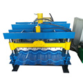 Colored Steel Glazed Roofing Panel Making Machine