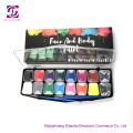 Professional Face paint kit 16 color palette