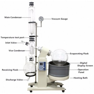 10l motor- driven explosion-proof  rotary evaporator