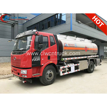 Guaranteed 100% FAW J6 aluminum fuel tank truck