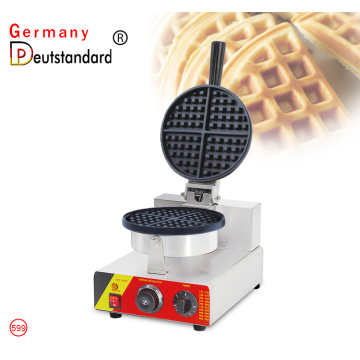 Commercial lattice waffle maker iron