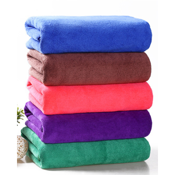 Custom size color car wash towel hair towel