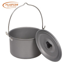 4.2L Anti-coagulation Lid Black Outdoor Dutch Oven
