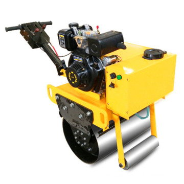 Hand  push single drum vibratory road roller