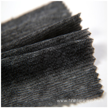 Fast Delivery for 100% Nylon Woven Interlining Fabric 100% nylon weft insert nonwoven interlining for garment export to Benin Factories