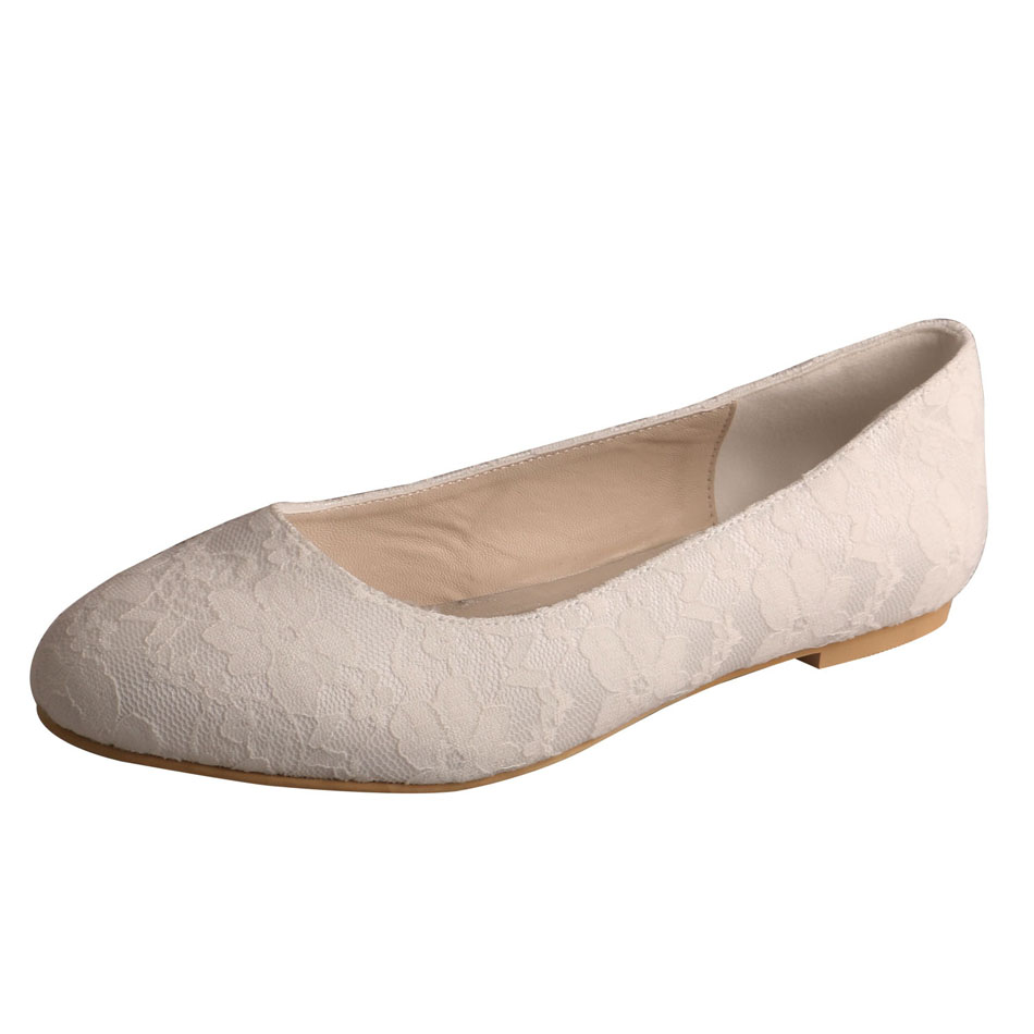 Wedding Flat Shoes For Bride