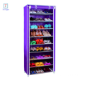 9 Tiers Portable Storage Closet Shoe Organizer Rack