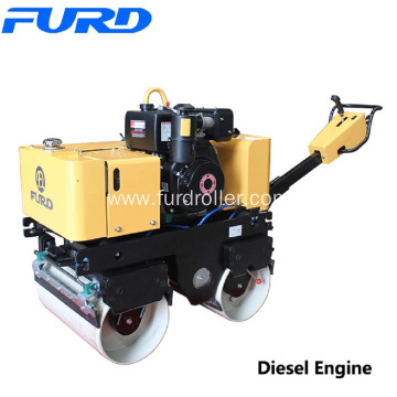 Mini Double Drum Vibratory Road Roller