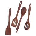 Walnut wood kitchen utensils