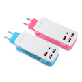 USB Charger Portable Travel Power 6 USB Ports
