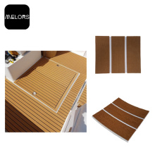 Light Brown + White Color Marine EVA Foam Boat Flooring