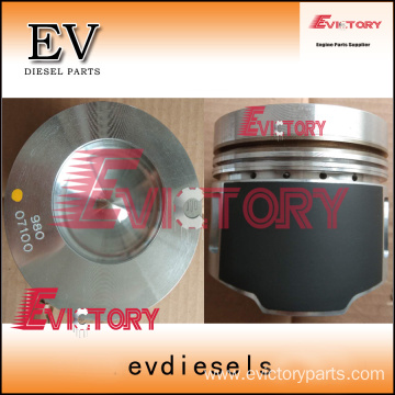 CATERPILLAR excavator engine S6K piston kit