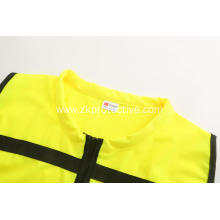 hot sell Hi-vis multi-pockets reflective jacket