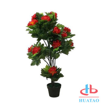 Hot Selling Plastic Material Artificial Potted Plants