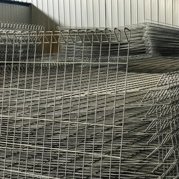Decorative welded metal wire mesh BRC fence