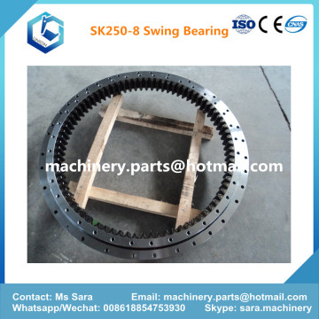 Excavator Slew Bearing Ring Gear Cicle SK250-8