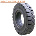 Industrial Forklift Vehicles Solid Tire 250-15 R705