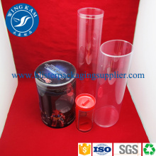 Custom Transparent Cylinder Container Packaging
