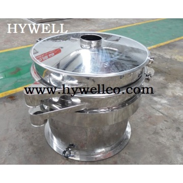 Round Stainless Steel Vibrating Screen for Egg Powder