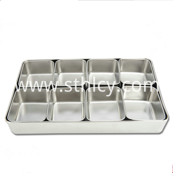 Stainless Steel Seasoning Jarlm
