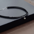 Double Black Velvet Choker Women Crystal Chocker Necklace