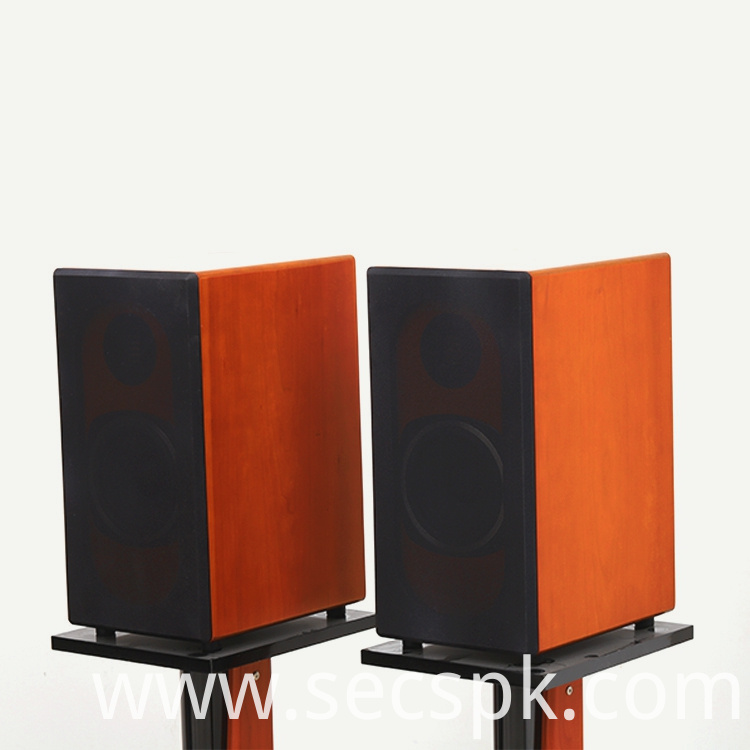 8inch Bookshelf Wooden Speaker Box