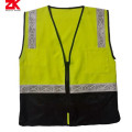 Roadway reflective warning garment