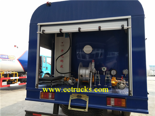 LPG Cylinder Filling Truck with Pump