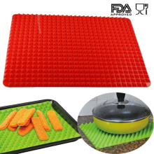 Factory directly sale for Silicone Pastry Mat Pyramid Pan Silicone Baking Mat With Private Lable supply to Oman Factory