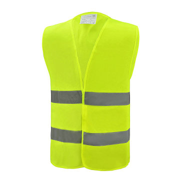 Reflective Safety Vest with 2 horizontal reflective tape