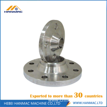 ANSI B16.5 aluminum long welding neck flange