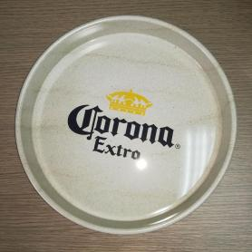 tin tray with round shape for pub